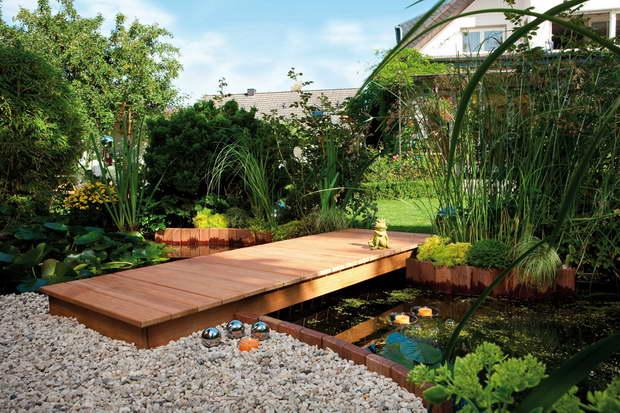 garden design,wood floor in garden,outdoor design ideas,
