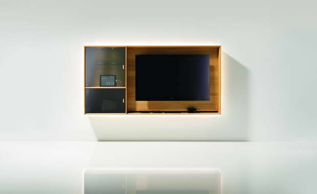 lux tv element design jacob strobel. Black Bedroom Furniture Sets. Home Design Ideas