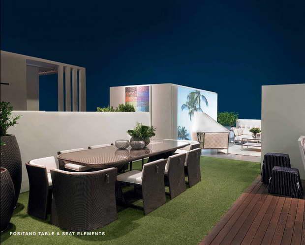Gartenmobel Zum Selber Bauen : Die neue Kollektion von Gartenmöbel – Fendi Casa  ArchiWohnende