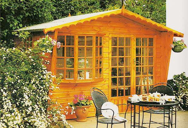 small wood house garden,wood in garden ideas,landscape ideas,